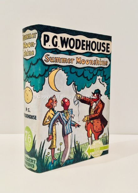 Summer Moonshine Signed by P.G. Wodehouse First Edition Herbert Jenkins 1938